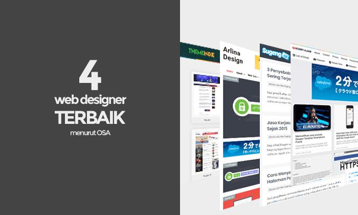 4 Web Designer Terbaik Menurut Versi Osa