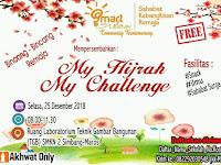 "My Hijrah My Challenge"" oleh Smart With Islam Community Bantimurung."