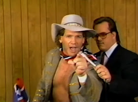 Smoky Mountain Wrestling - Tracy Smothers is interviewed before his match