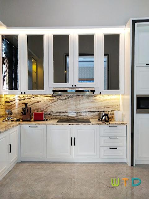 Desain Dapur Modern Klasik Bandar Lampung