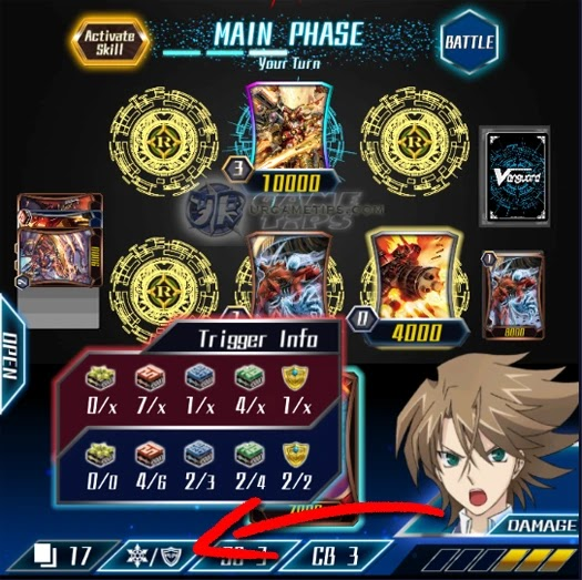 Vanguard ZERO: Battle Tip Trigger Info