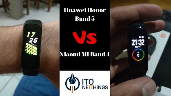 Huawei Honor Band 5 vs Xiaomi Mi Band 4