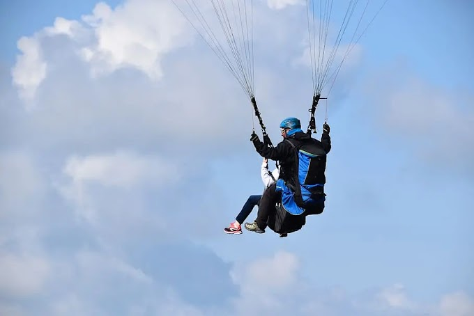 Adventure tour in India with paragliding, what is paragliding