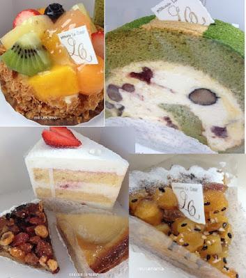 ルクールのケーキいっぱい