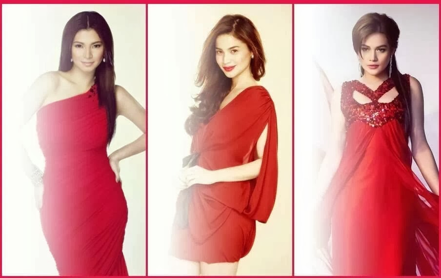 ABS-CBN Primetime Queens Angel Locsin, Anne Curtis, and Bea Alonzo