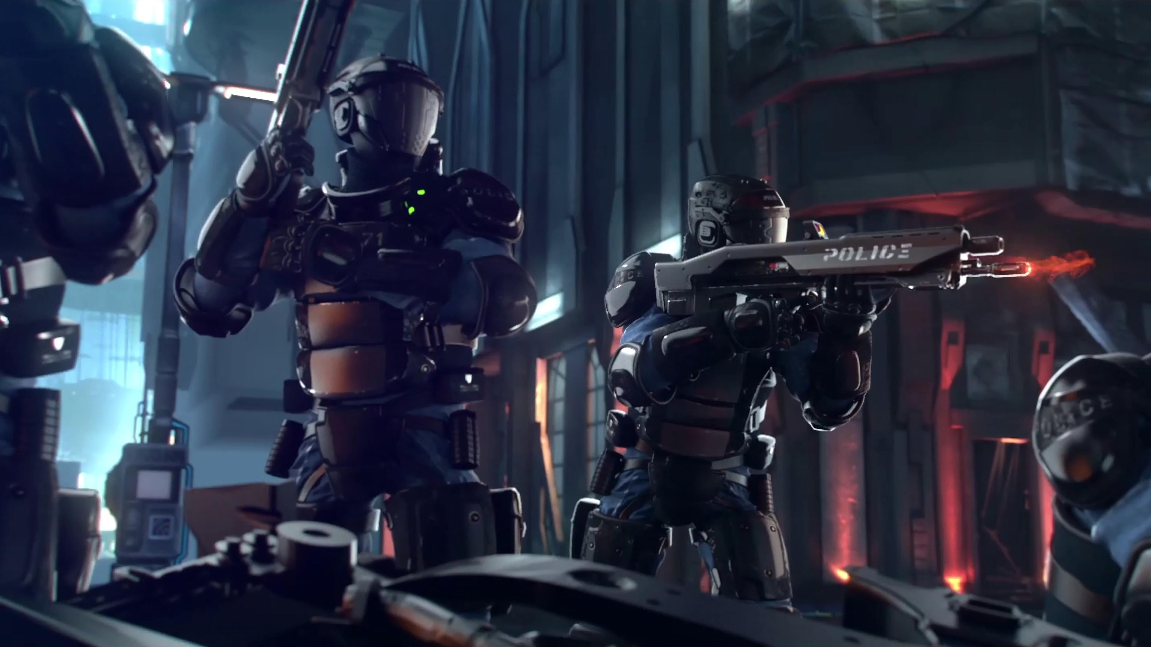 Cyberpunk 2077 Dual Monitor Wallpaper