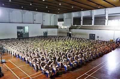 ชลบุรี - ฐานทัพเรือสัตหีบ จัดอบรมทหารก่อนปลดเพื่อรับความรู้ไปใช้ในชีวิตประจำวันหลังปลดเป็นทหารกองหนุน