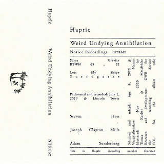 Haptic, Weird Undying Annihilation