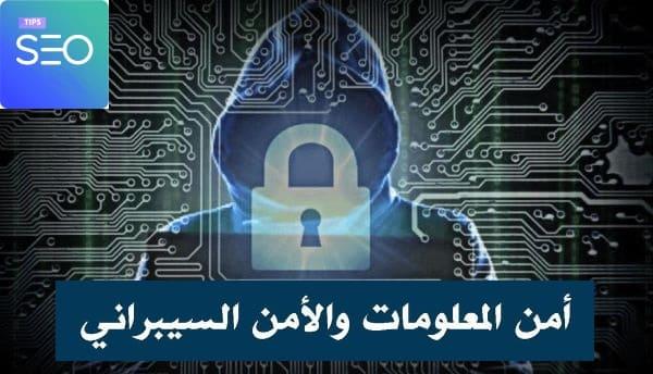 الأمن السيبراني   أمن المعلومات