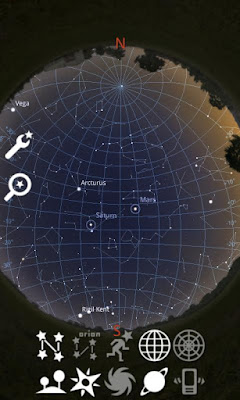Preview Stellarium Mobile Sky Map V1.23