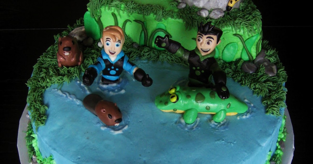 Custom Cakes By Julie Wild Kratts Cake