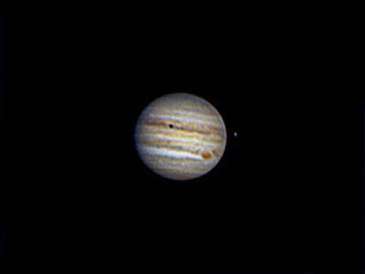 Júpiter i satèl·lit Europa - 04/09/2020 21:43 UT