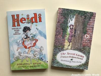 Classic books for children - Heidi and The Secret Garden