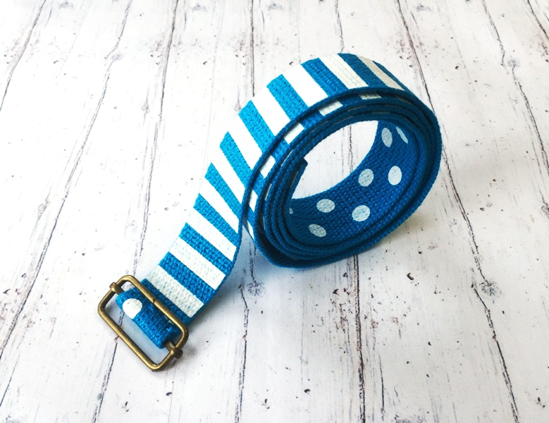 how to make a fabric belt