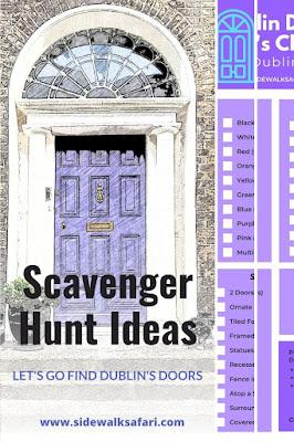 Dublin Doors Neighborhood Scavenger Hunt Games