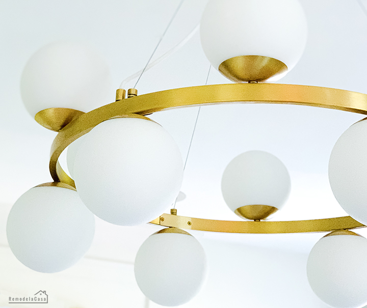 A new lighting fixture for the family room