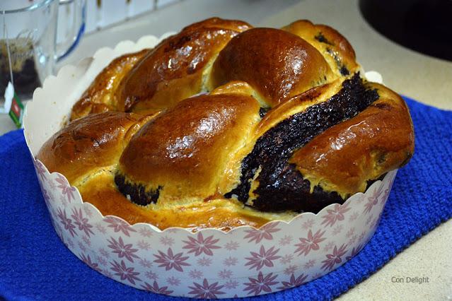 עוגת שמרים בתבנית אפייה חד פעמית מקרטון