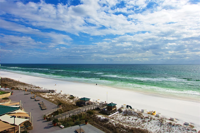 The view from the Hilton Sandestin