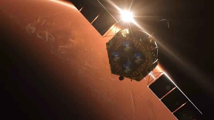 Ukir Sejarah, Pesawat UEA Berhasil Mendekati Orbit Mars