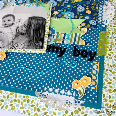 scrap scrapbook scrapbooking lo my boy menino masculino family ties pebbles inc
