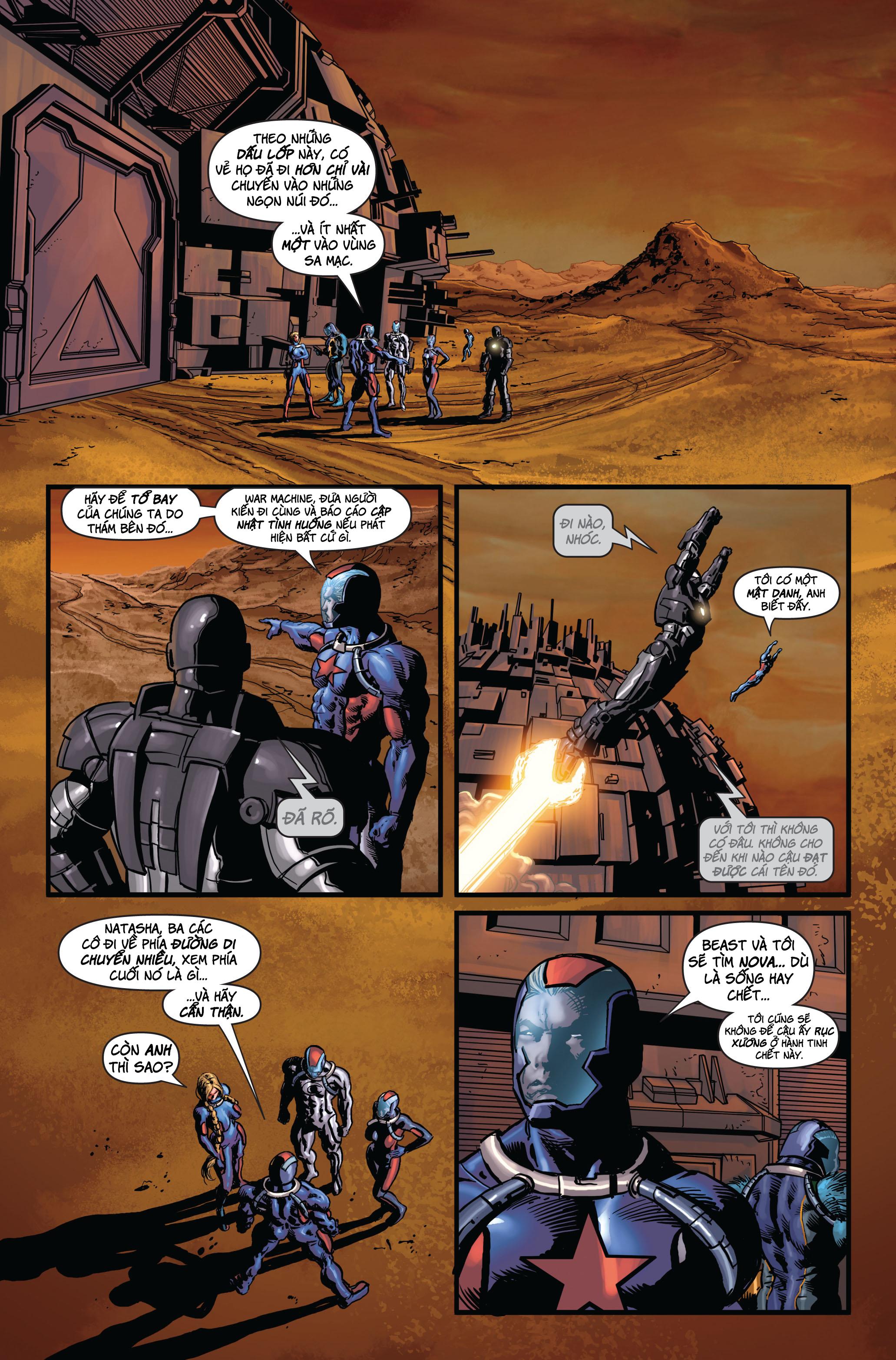 Secret Avengers 2010 | Báo Thù Mật Đội 2010