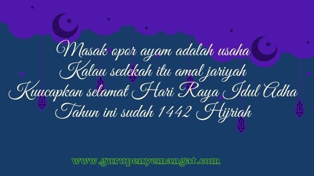 Pantun Ucapan Selamat Hari Raya Idul Adha 1442 H