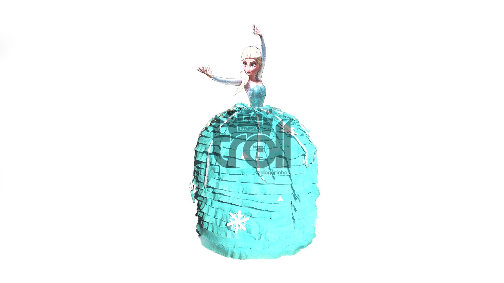 Pinhata Elsa (frozen) | Troll - Soluções para eventos