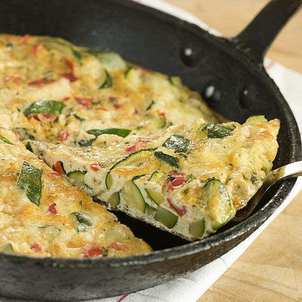 Sos recette omelette la courgette tomate et au fromage for Ideas de comidas faciles