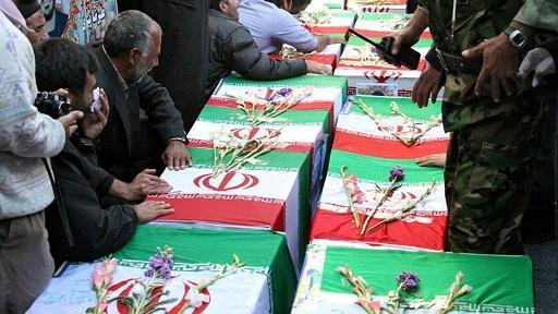Iran Tangisi 8 Jenazah Garda Revolusi dari Pertempuran Aleppo