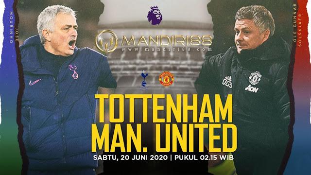 Prediksi Tottenham Hotspur Vs Manchester United, Sabtu 20 Juni 2020 Pukul 02.15 WIB @ Mola TV