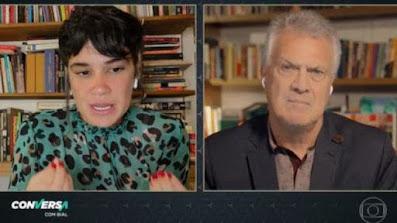 Filha de Beth Carvalho relata censura de Bial na Globo ao pedir entrevista com Lula sem polígrafo
