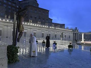 Papa Francisco rezou na tarde desta sexta-feira a oração Urbi et Orbi