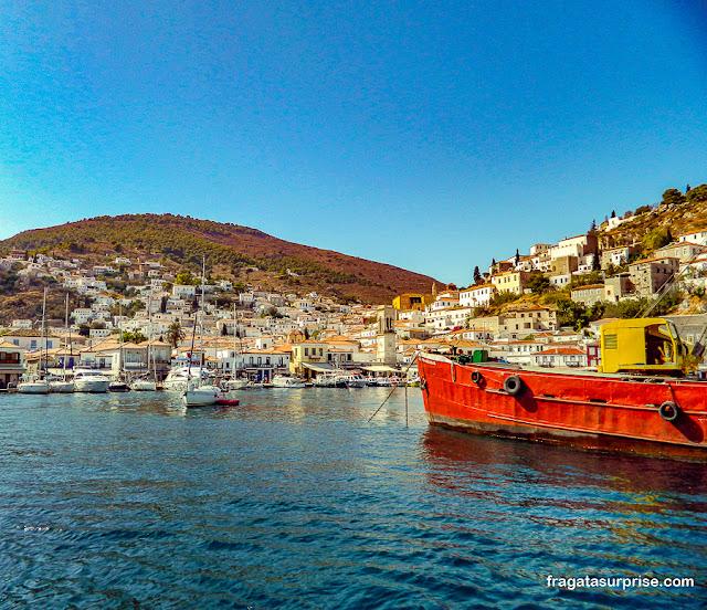 Ilha de Hidra, Grécia