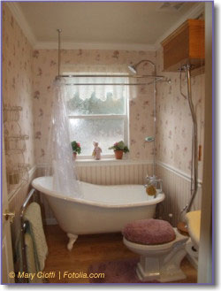 Vintage Pearl: The Inspiration - The Vintage Bathroom
