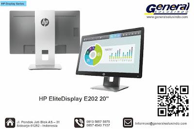 HP EliteDisplay E202 20