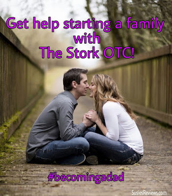 Starting A Family With The Stork OTC Home Conception Aid! #becomingadad