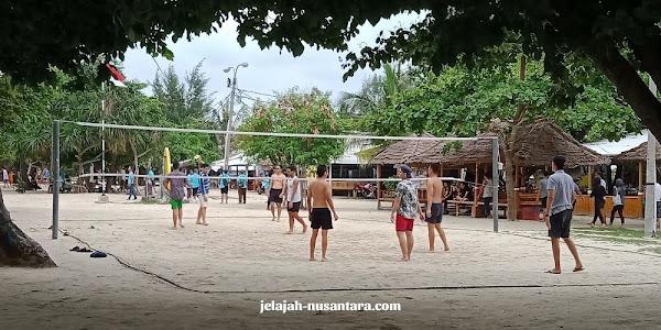 paket wisata private trip pulau pari