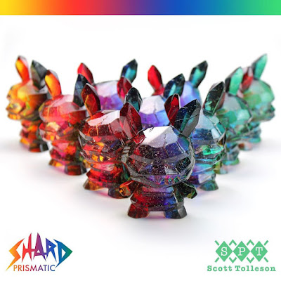 "Shard Prismatic Edition Dunny 3"" Resin Figure by Scott Tolleson"