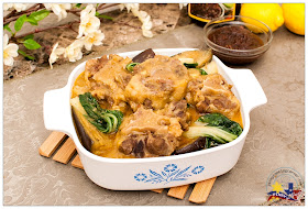 Pinay In Texas Cooking Corner: Oxtail Kare-Kare