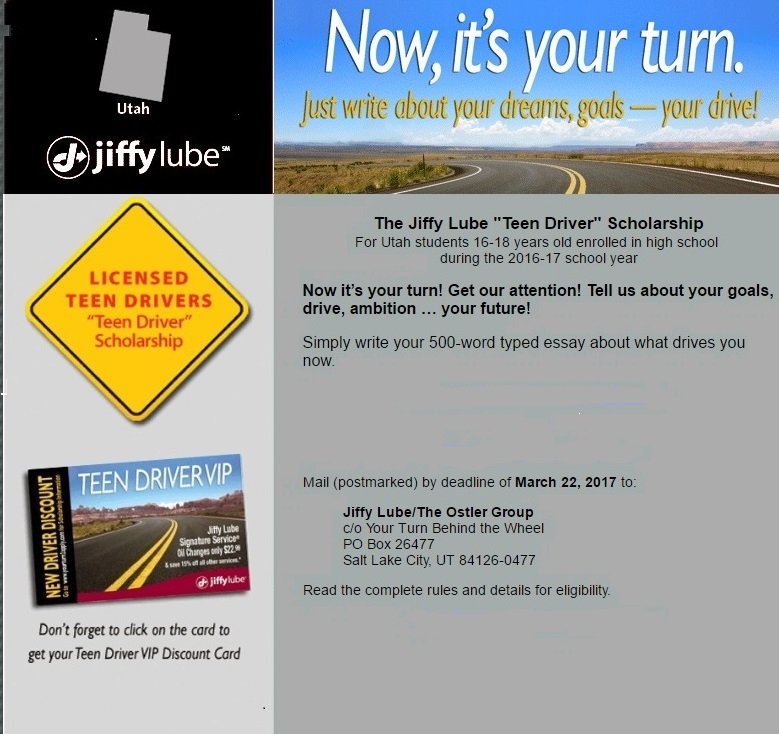 jiffy lube essay Free essay: how to change the oil in your car's engine automobiles are american's second largest investment after real estate it is impoprtant to understand.