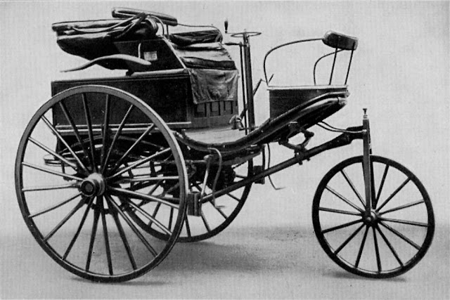 [Viajando na História] O mês de Julho na História - Primeiro automóvel