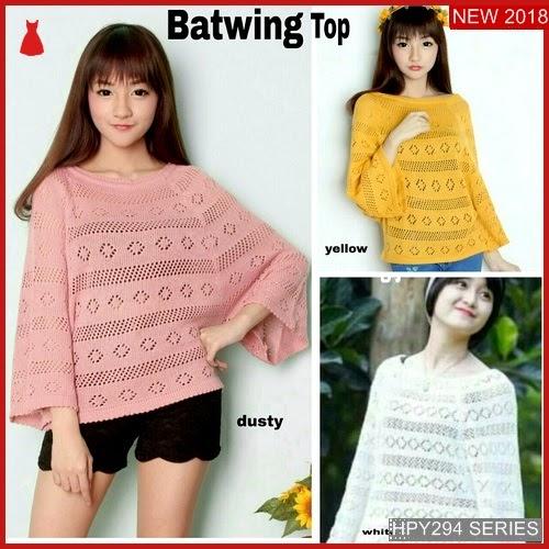 HPY294B173 Batwing Top Anak Rajut Murah BMGShop