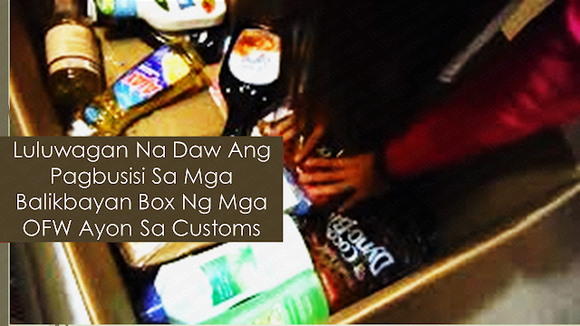 Overseas Filipino workers (OFW) send balikbayan boxes to their family back home, especially during the holiday season. It is a way of letting their family know that although they may not be physically present, they can still be felt through the thing everyone got to enjoy the holiday. They choose the cargo company carefully to make sure that it is safe. The most important thing is that they know that the hard-earned package they sent arrived in time and complete without any damage or pilferage from the courier or the Bureau Of Customs checking. OFWs opposed the open-box checking of the balikbayan boxes last year. Today, non-contact checking of the balikbayan boxes are in effect unless they found something highly suspicious during x-ray and K-9 checking.      Ads  Sponsored Links  In the middle part of last year, BOC released a memorandum order requiring a detailed list of the balikbayan box contents and presenting an OEC or passport as a proof that the sender is a legitimate OFW.    Furthermore, the Bureau of Customs (BOC) on said that it has eased the guidelines in availing of the duty and tax-free privilege of consolidated balikbayan boxes. This is due after the previous rules were criticized by the overseas Filipino worker (OFW) community for the tedious requirements in accessing the P150,000 duty and tax-exemption privilege.  Customs Memorandum Order 18-2018, issued on October 11, provides for the guidelines on the availment by consolidated shipment of balikbayan boxes. The issuance supersedes CMO 04-2017.  According to the BOC, instead of the mandatory copy of a Philippine passport, it will now accept other documents to show proof of Filipino citizenship, such as photocopy of pertinent page of the Philippine passport; or in case of a dual Filipino citizen without a Philippine passport, a photocopy of foreign passport plus a copy of proof of dual Filipino citizenship; permanent resident ID; Overseas Employment Certificate or their Overseas Workers Welfare Administration work permit; Unified Government ID; and any other equivalent document except birth certificate.  In a bid to simplify the rules and regulations on duty-and tax-free consolidated balikbayan boxes, Qualified Filipinos availing of the P150,000 duty and tax-free privilege are not required to submit the commercial invoices of the goods contained in the balikbayan box.   Aside from proof of citizenship, the regulation requires qualified Filipinos, through their freight forwarders or de-consolidators, to submit the Information Sheet in three copies. The first copy is to be placed at the topmost portion of the box, the second copy to be kept by the sender, and the third copy is to be given to the Consolidator to be forwarded to the BOC together with other documentary requirements.  Balikbayan box senders are advised that the balikbayan box must only contain personal and household effects, according to the BOC.  Balikbayan boxes may be sent up to three times in a calendar year provided the total Free Carrier Act value per sender shall not exceed P150,000 and the items or goods sent are not in commercial quantities.  The bureau added that de-consolidators and freight forwarders in charge of clearing consolidated balikbayan boxes are obligated to ensure that only personal effects and household goods are sent through consolidated shipments of balikbayan boxes.  The penalties and sanctions to be imposed against erring de-consolidators and freight forwarders are provided under Customs Administrative Order 1-2018.  Filed under the category of Overseas Filipino workers,  balikbayan boxes, holiday season, cargo company, pilferage, Bureau Of Customs, non-contact checking  Ads