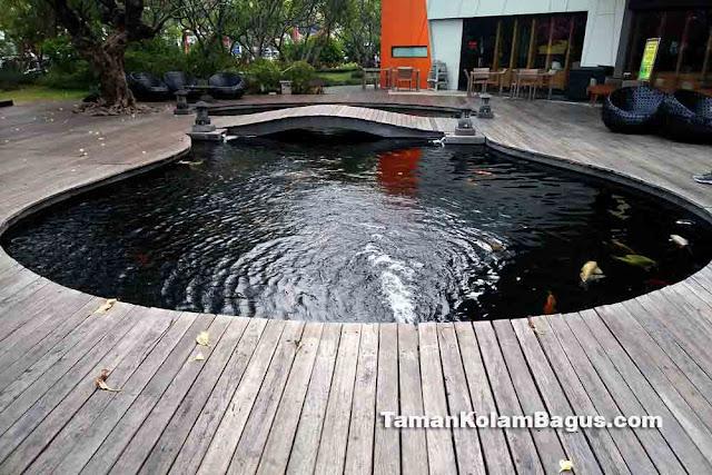 Kolam Ikan Koi Minimalis