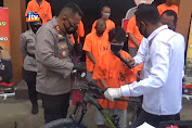 Petugas Amankan Wanita Pencuri 12 Sepeda Di Seputaran Alun-Alun