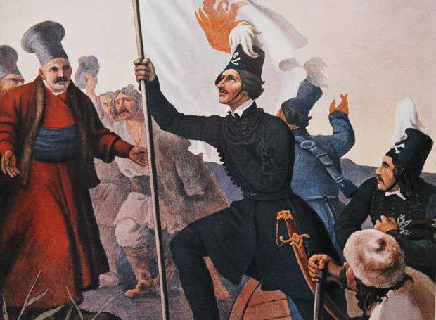 Ο Υψηλάντης κηρύσσει την Ελληνική Επανάσταση