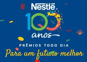 Cadastrar Promoção Nestlé Produtos 100 Anos Prêmio Todo Dia