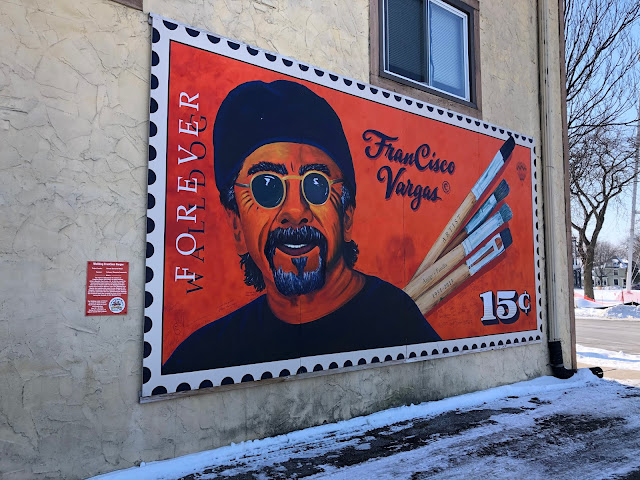 Honoring muralist FranCisco Vargas.