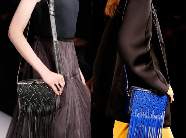 Fall-Winter 2018-2019 Women's Purses With Fringes Fashion Trends
