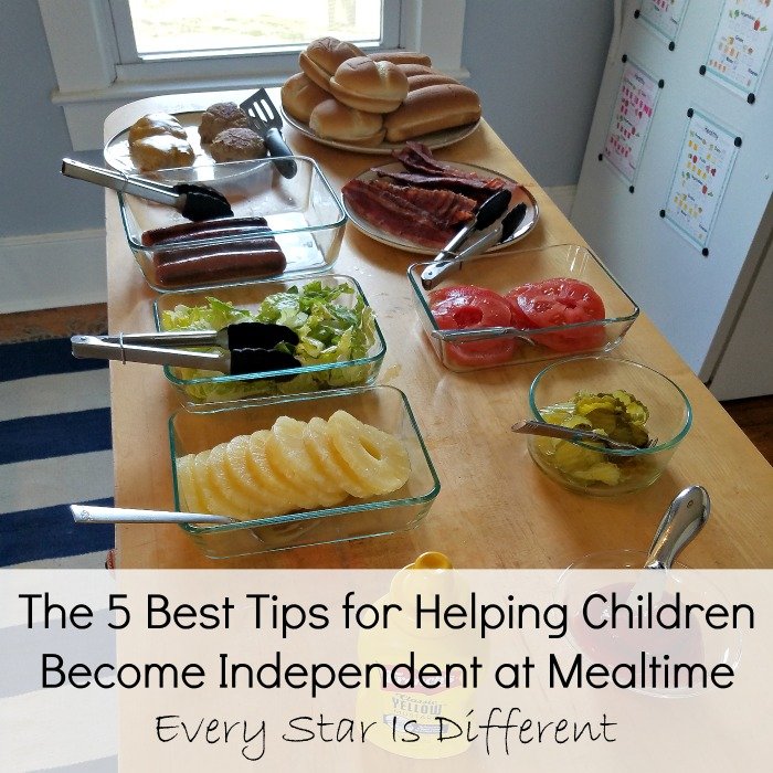 Tips for Helping Children Become Independent at Mealtime